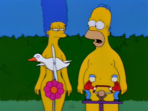 Marge simpson and bart having sex