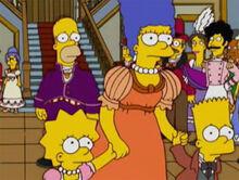 Homer abandonado marge crianças 18x11