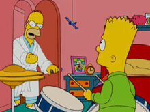 Homer bravo bart bateria