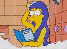 Marge leitura darwin banho