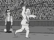 Abe simpson olimpíadas 1936