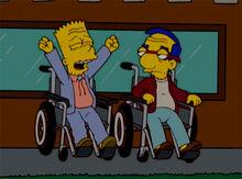 Bart milhouse velhos 18x18 2