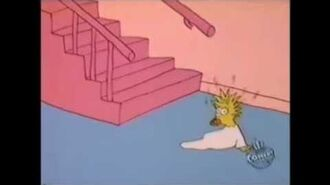 The Simpsons Shorts- Babysitting Maggie
