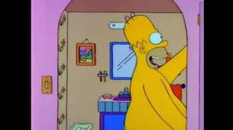 Homer the heretic sings Delilah in the shower (simpsons)