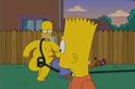 Bart Gets a Z homer