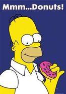 HOmer w Donuts