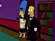 Homer & Marge maid