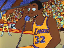 Magic johnson telefone homer