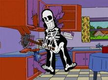Homer reformando cozinha
