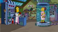 Professor Frink's Scientific Experiments Teleportation - Moe