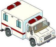 The Simpsons Tapped Out Ambulance