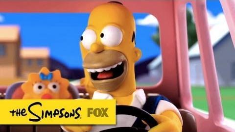 """Assista a abertura dos Simpsons feita pelo """"Galo Robô"""""""