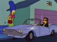 Ruth w samochodzie