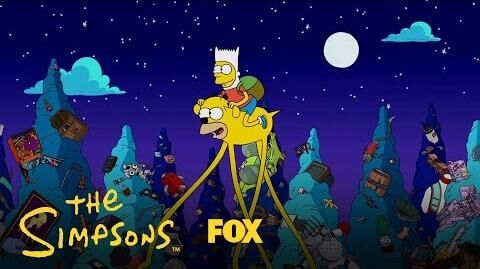 Simpsons Time Couch Gag Season 28 Ep