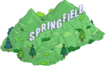 Springfield Sign Tapped Out
