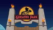 Geriatric Park title card