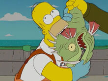 Homer prova peixe slarg 3