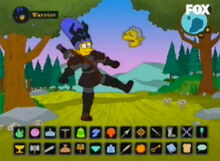 Marge amazona sombras rpg 2