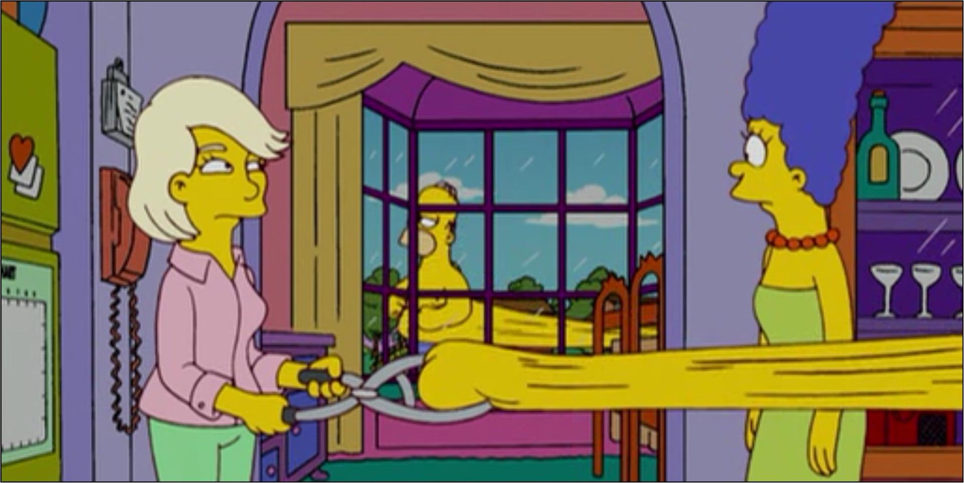 Simpsons Fat Fingers