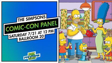 Simpsonowie - Comic-Con 2018