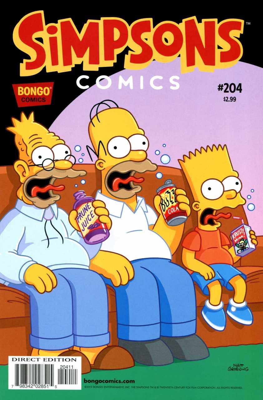 comics simpsons los simpson comic bongo issue american cartoons books dad lisa bart homer animation wiki 90s comicbookrealm wikia simsons