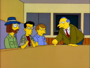 Bill Oakley, Josh Weinstein i George Meyer w serialu