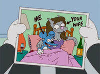 Comichão esposa coçadinha