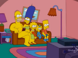 Animation Cel couch gag