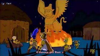 I Simpson April Fools Day Song (Sub Ita)