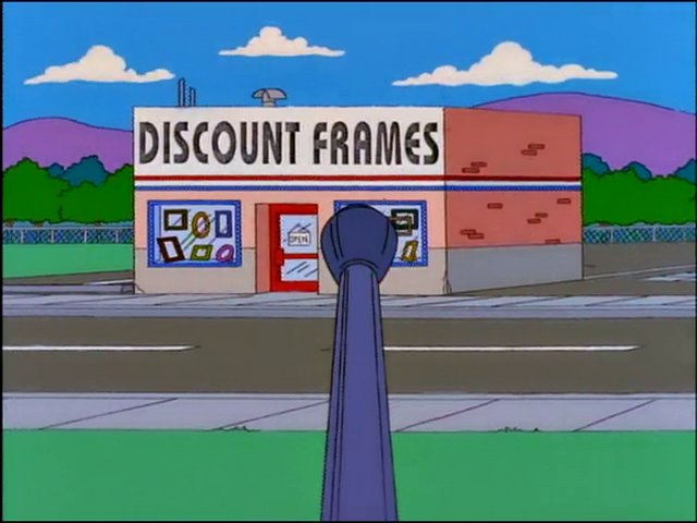 Discount Frames | Simpsons Wiki | FANDOM powered by Wikia