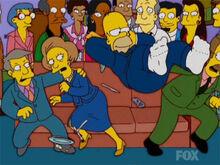 Homer pula sofa lenny