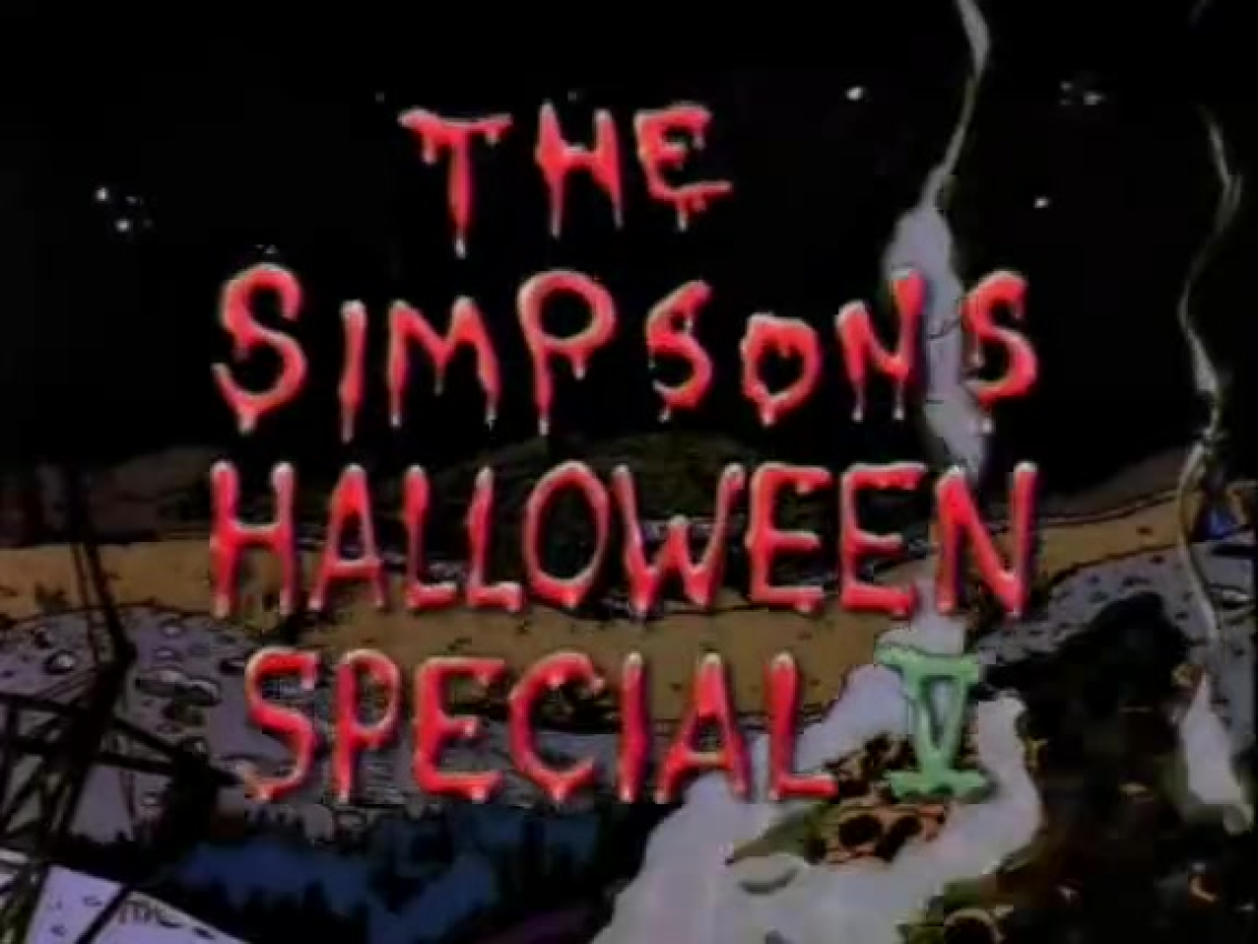 simpsons treehouse of horror v