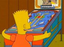 Bart pinball 18x15