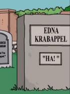 Edna Krapappel grave 28