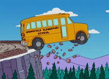Schoolbus jump