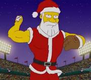 Steroid Santa Claus