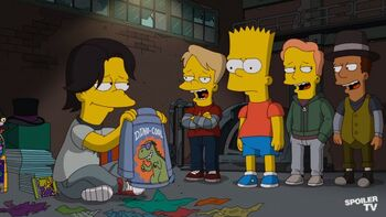 The Simpsons - Episode 24.07 - The Day The Earth Stood Cool - Promotional Photos (4) 595 SpoilerTV Watermark Large