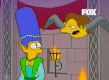 Marge cleriga nelson cabeça