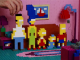 LEGO Brick Family couch gag