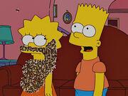 Lisa z brodą pszczół