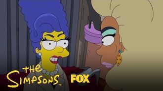 Marge Meets Queen Chante Season 30 Ep. 7 THE SIMPSONS