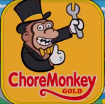ChoreMonkeyGoldLogo