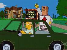Thomas pynchon placa carro1