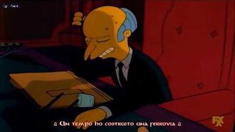 -I Simpson- Mr. Burns - Brother, Can You Spare a Dime? (Sub Ita)