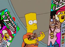 Bart lanches vicio