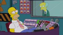 Homer w pracy