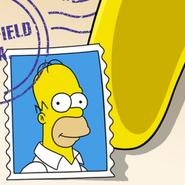 Icône Destination Springfield