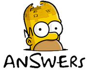 Simpsons Answers Logo