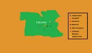 Takoma mapa