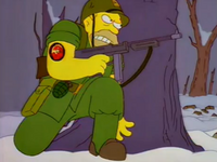 Abe Simpson Latająca Diabloryba